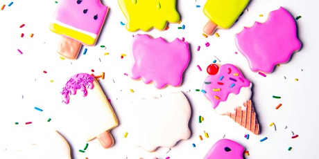 Icing and Ice Cream Sugar Cookie Decorating Class by SugarCookieClasses! tickets