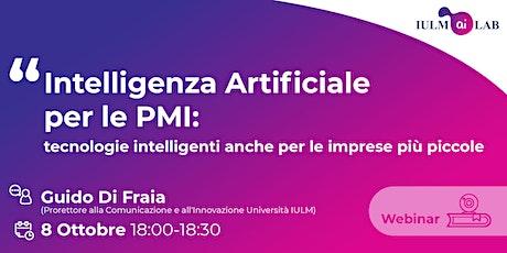 Intelligenza Artificiale per le PMI biglietti
