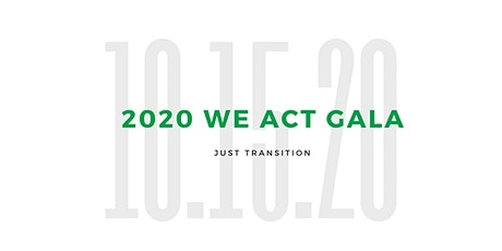 WE ACT 2020 Gala tickets