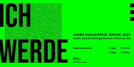 Ausbildungsmesse Rheine 2020 Tickets
