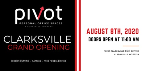 PIVOT Work Spaces Clarksville Grand Opening tickets