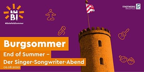 Burgsommer: End of Summer - der Singer-Songwriter-Abend Tickets