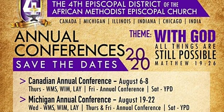 Michigan Annual Conference of the 4th Episcopal District of the AME Church tickets
