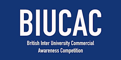 University of Sussex | Sign up to BIUCAC 2020 tickets