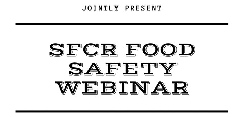 Food Safety Compliance SFCR Webinar tickets