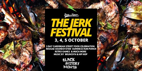 Jerk Festival Saturday 3 October tickets