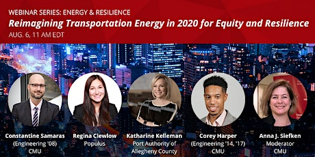 Reimagining Transportation Energy in 2020 for Equity and Resilience tickets
