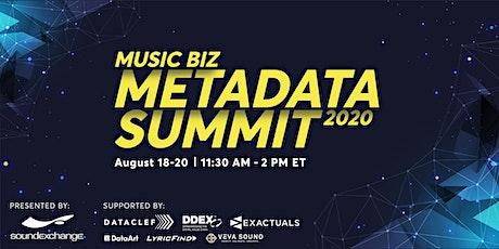 Music Biz Metadata Summit tickets
