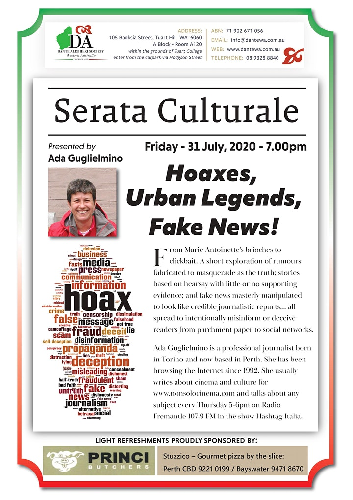 HOAXES, URBAN LEGENDS, FAKE NEWS!! image