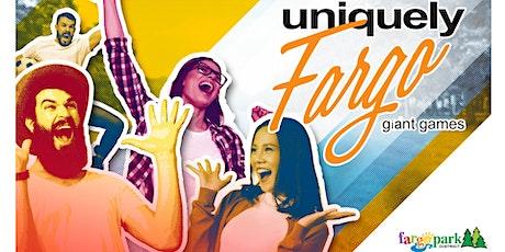 Uniquely Fargo: Giant Games tickets