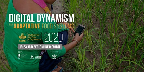 2020 CGIAR Platform for Big Data in Agriculture Convention tickets