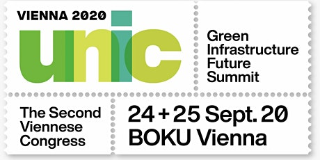 UNIC VIENNA 2020 Green Infrastructure Future Summit tickets