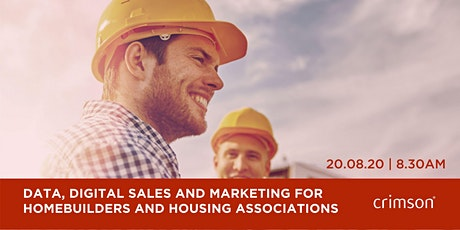 Data, Digital Sales and Marketing for Homebuilders and Housing Associations tickets