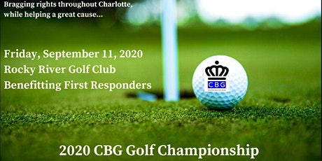 2020 Charlotte Business Group Golf Championship: Help 1stResponders on 9/11 tickets