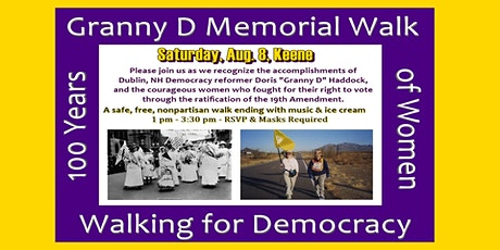 Granny D Memorial Walk & Rally tickets