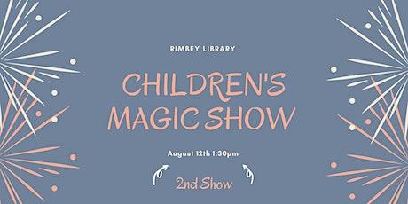 Magic Show- 1:30pm tickets