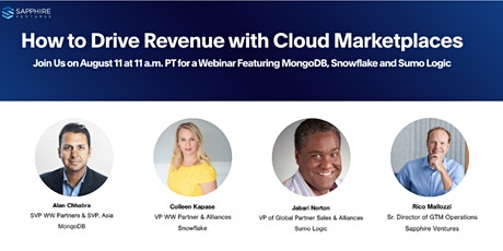 How to Drive Revenue with Cloud Marketplaces tickets