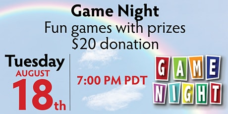 RMCCF Virtual Game Night (Fundraiser) tickets