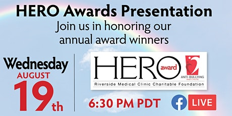 RMCCF Hero Awards Presentation on FB LIVE tickets
