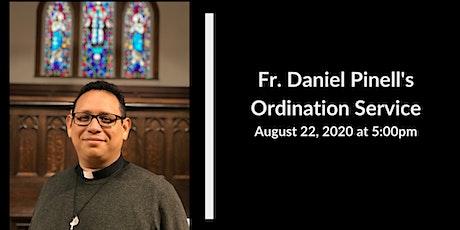 Fr. Daniel's Ordination tickets