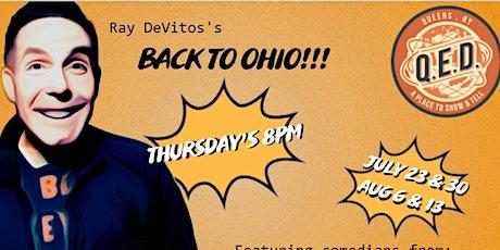 Ray DeVito's Back to Ohio Farewell Comedy Shows - Live, In Person tickets