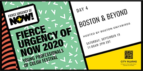 Boston & Beyond – Fierce Urgency of Now! tickets