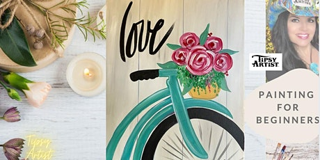 How to Paint a Bicycle with a Basket of Roses tickets