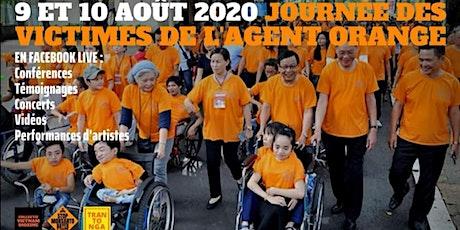 Mobilisation en ligne en soutien aux victimes de l'Agent Orange billets