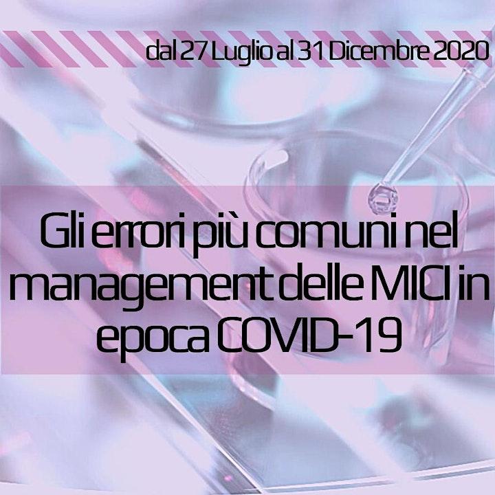 Immagine Gli errori più comuni nel management delle MICI in epoca COVID-19
