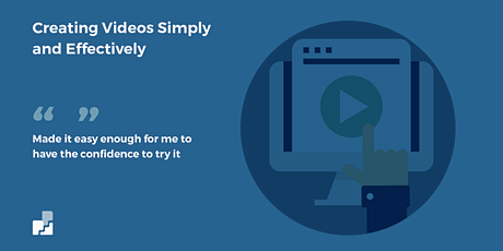 Creating Your Own Videos Simply and Effectively August 2020 tickets