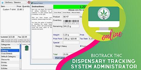 (ONLINE) Dispensary Tracking System Administrator entradas