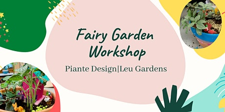 Family Fairy Garden - Zoom Virtual Workshop tickets