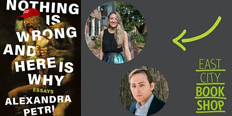 Alexandra Petri, Nothing is Wrong and Here Is Why, with David Litt tickets