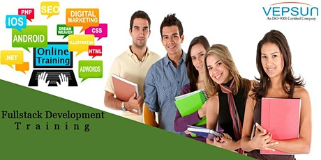 Full stack online  training @ Vepsun Technologies tickets