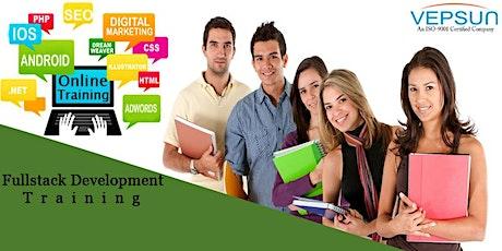 Full stack online weekdays training@Vepsun Technologies tickets