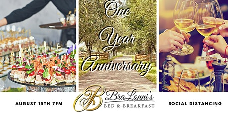 BraLonni's Bed & Breakfast 1 Year Anniversary - Vendor Meet & Greet tickets