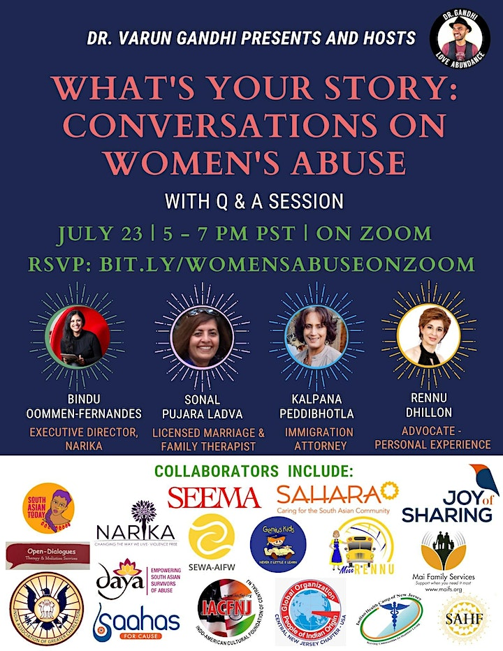 What's Your Story? Conversations in Women's Abuse image