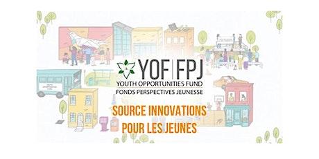 Source Innovations pour les jeunes - Séances d'encadrement en groupe billets