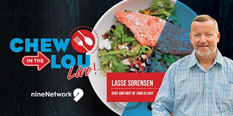 Chew in the Lou  Live!  with Lasse  Sorensen from Food Is Love tickets