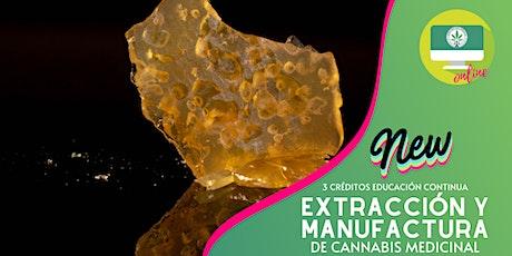 (ONLINE) Extracciones y Manufactura de Cannabis entradas