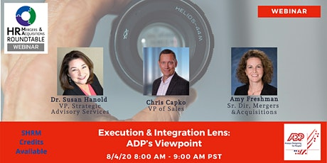 Execution & Integration Lens: ADP's Viewpoint tickets