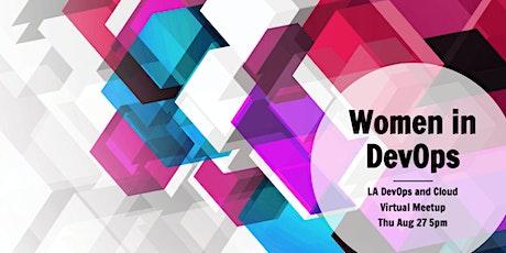Virtual Meetup: Women in DevOps tickets