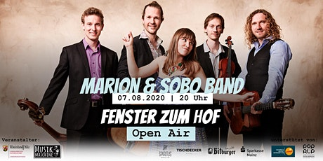 Fenster zum Hof (Open Air) - Marion & Sobo Band Tickets
