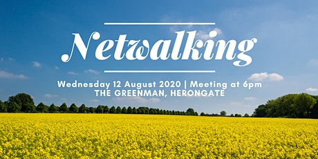 August 2020 'Netwalking' Event from The Green Man Herongate tickets