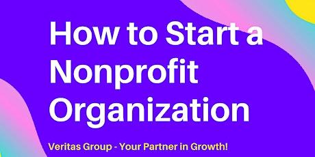 How to Start A Nonprofit Organization Webinar tickets