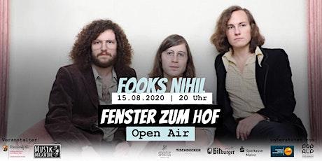 Fenster zum Hof (Open Air) - Fooks Nihil Tickets