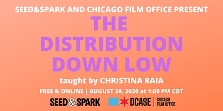 The Distribution Down Low - Online Film Workshop tickets