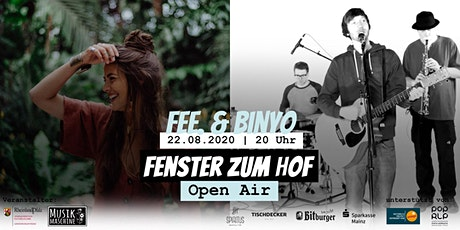 Fenster zum Hof (Open Air) - FEE. & Binyo Tickets
