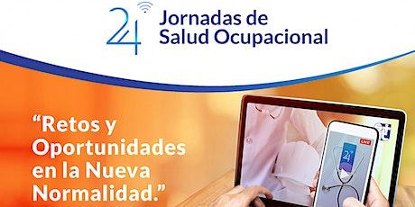 24 Jornadas de Salud Ocupacional entradas