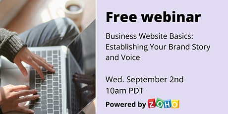 Educational Webinar: Establishing Brand Story and Voice tickets